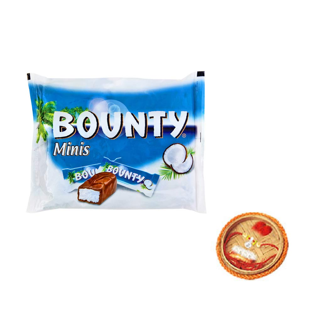Bounty Minis With Free Rakhi