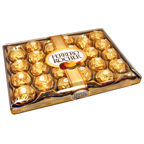Ferrero Rocher Chocolates 24 pieces