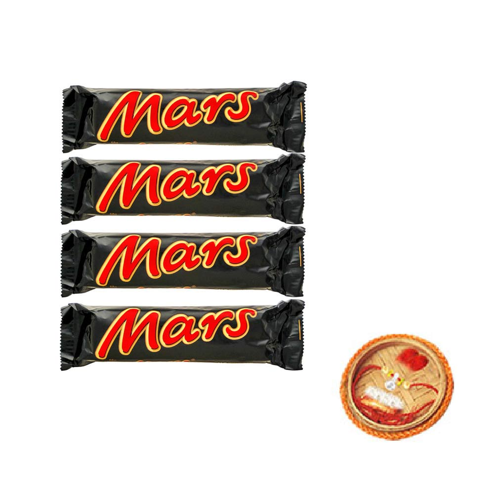 Mars Chocolates 4 With Free Rakhi