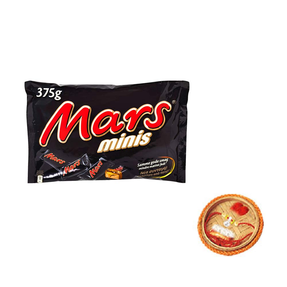 Mars Minis Chocolates With Free Rakhi