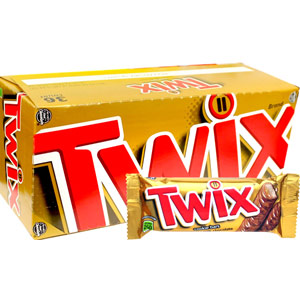 Imported Brands-Twix Chocolates- 25 pieces Box