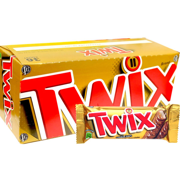 Twix Chocolates- 25 pieces Box