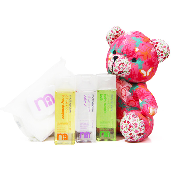 Baby Shower Hampers-Compete Baby Bath Kit