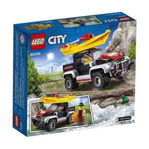 Games & Playsets-Lego City Great Vehicles Kayak Adventure