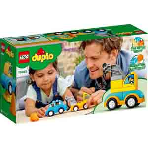 Games & Playsets-Lego Duplo My First Tow Truck