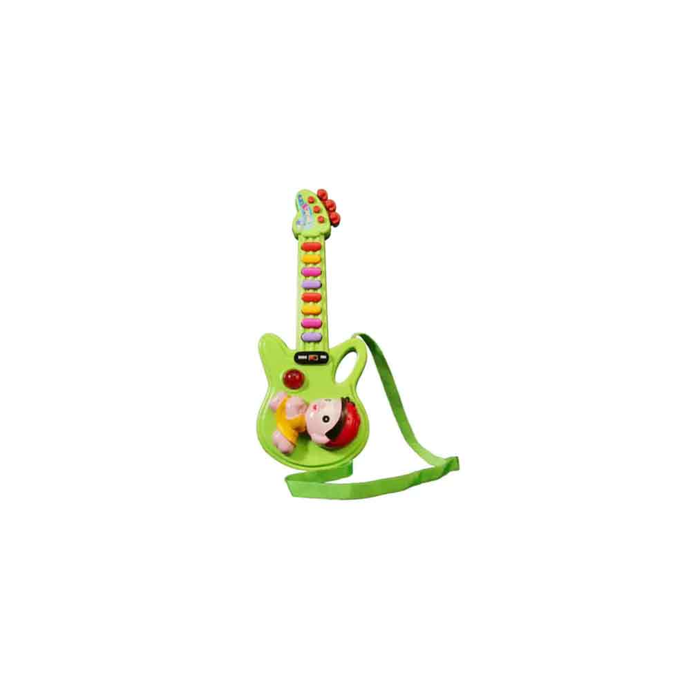 PraSid Green Mini Musical Guitar 30.48 cm (12 inch)
