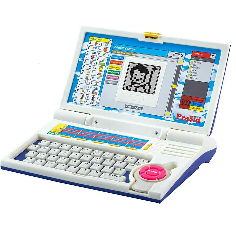 PraSid Kids English Learner Computer Toy Educational Laptop