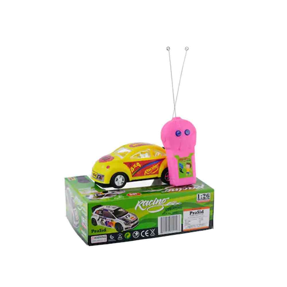 PraSid Remote Radio Control Car - Yellow