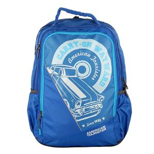 American Tourister Pop 02 Blue 2017 Backpack