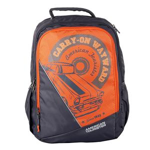 Backpack-American Tourister Pop 02 Grey 2017 Backpack