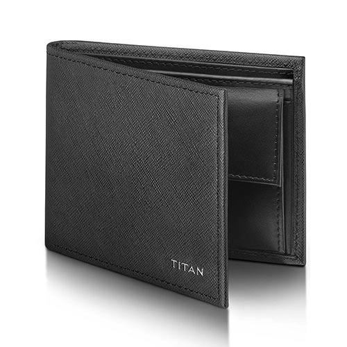 Gents Wallet-Titan Radar Bluetooth Enabled Leather Wallet