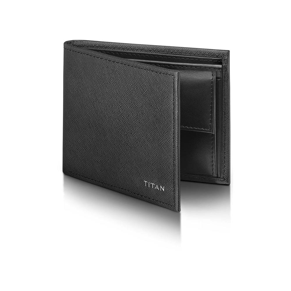 Titan Radar Bluetooth Enabled Leather Wallet