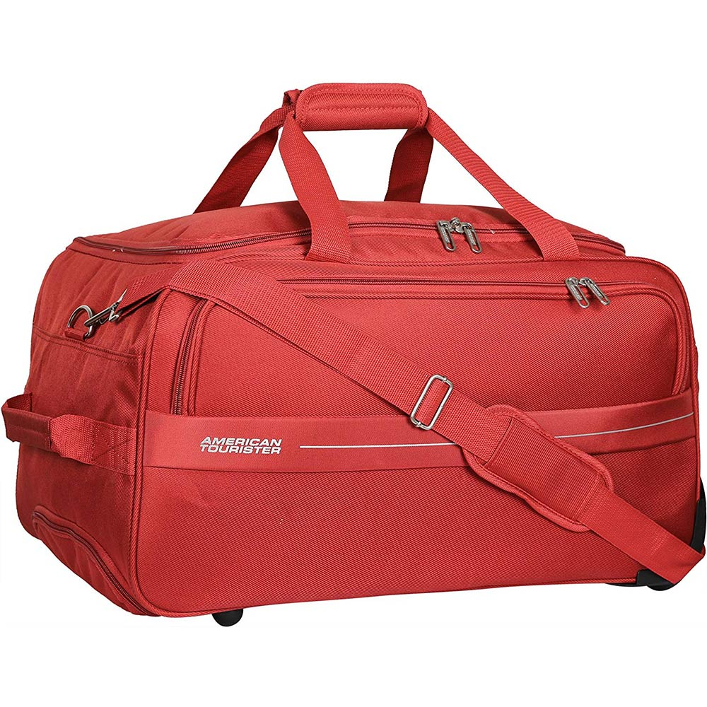 American Tourister Marco Polyester 54 cms Rust Travel Duffle