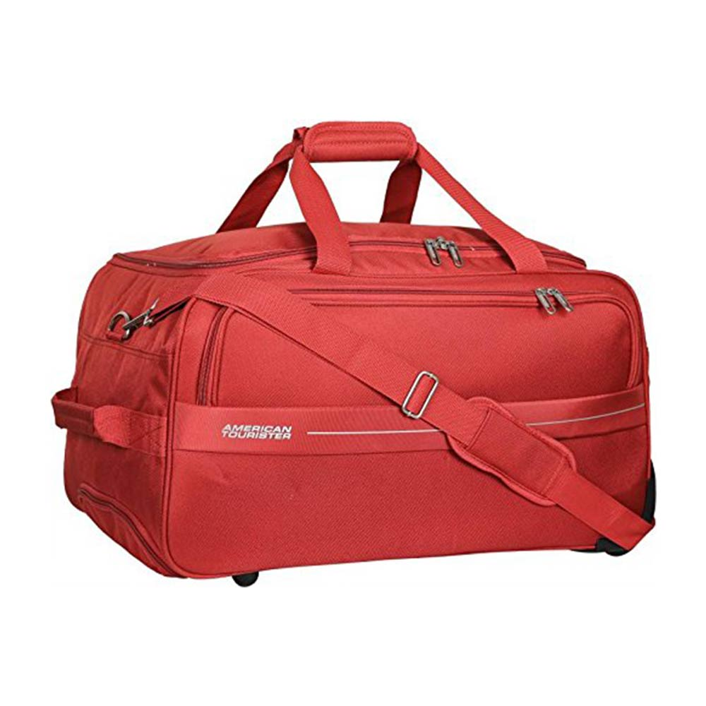 American Tourister Marco Polyester 64 cms Rust Travel Duffle