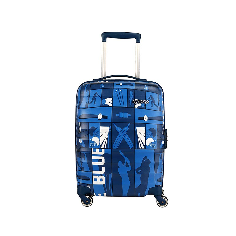 American Tourister Play4blue Polycarbonate 55 cms