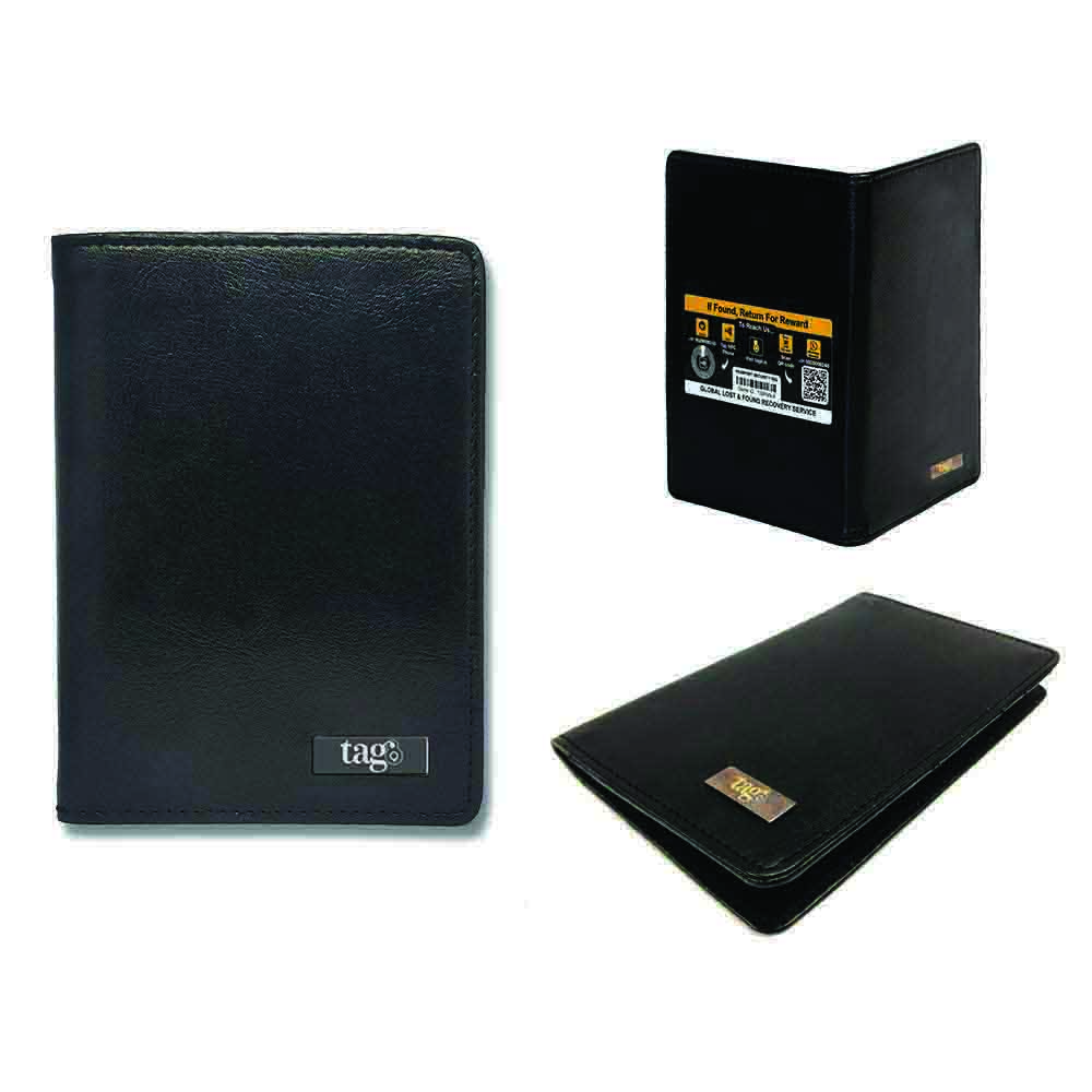Tag8 RFID Passport Finder case Black