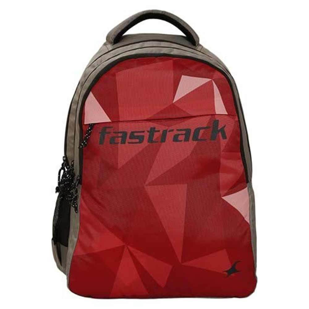 Fastrack 26.89 Ltrs Red School Backpack (A0800NRD01)
