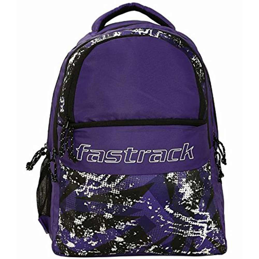Fastrack 26.89 Ltrs Purple School Backpack (A0801NPR01)