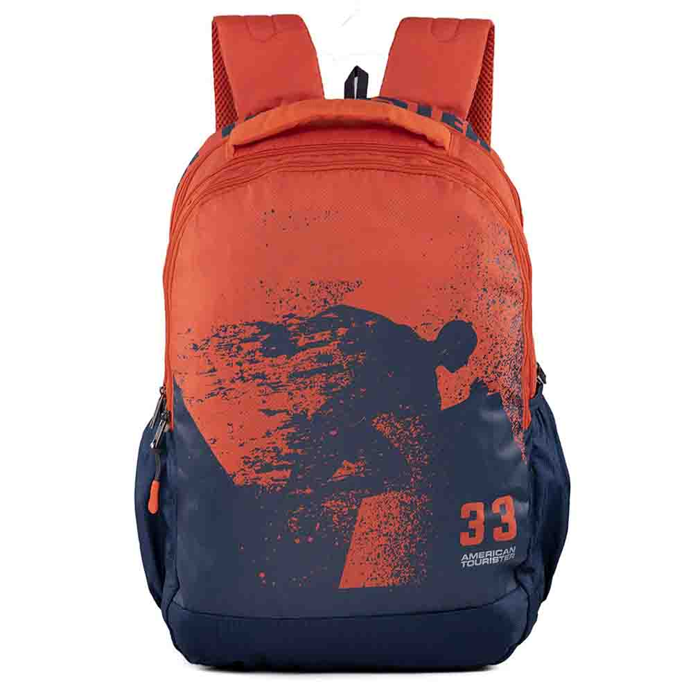 Pop Nxt 04 Blue Rust Casual Backpack