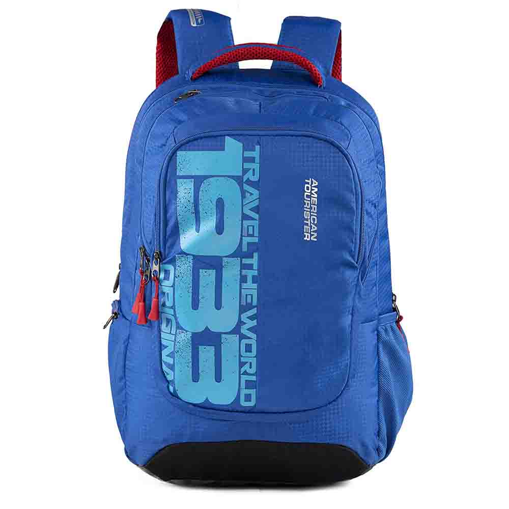 Backpack-Insta Nxt 03 Sporty Blue Laptop Backpack