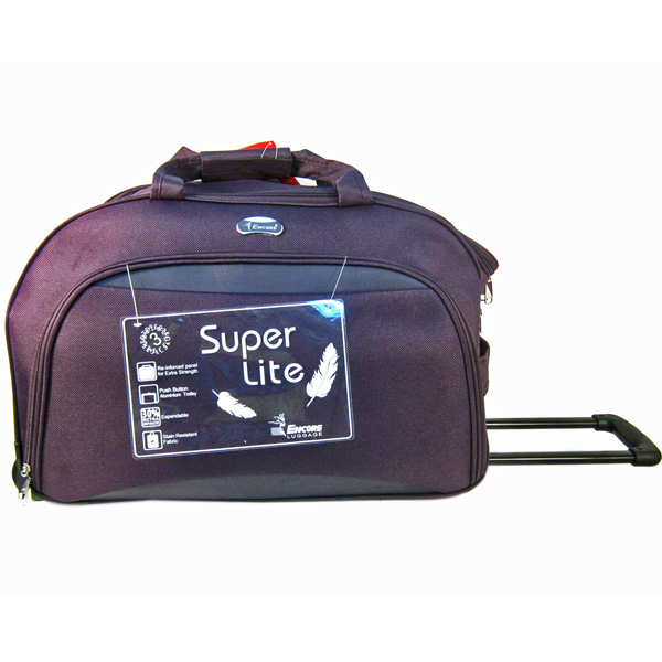 Encore Duffel Trolley Bag - 20 inches With Free Single Mask