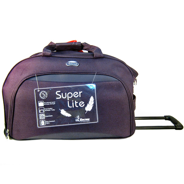 Encore Duffel Trolley Bag - 24 inches With Free Single Mask
