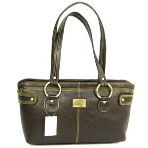 Shoulder Bags-Encore Leather Handbag for Women