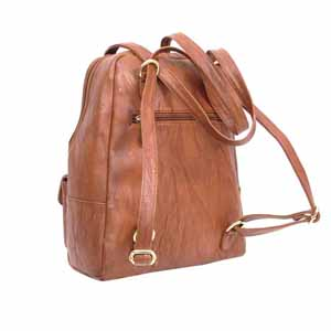 Shoulder Bags-Encore Purse 8600 Brown With Free Single Mask