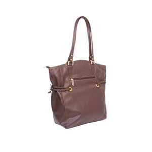 Shoulder Bags-Encore Purse 9000 Brown With Free Single Mask
