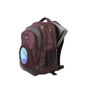 Encore Backpack 2500 Purple With Free Single Mask