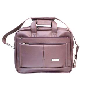 Office Bags-Encore Office 23 inch Brown With Free Single Mask