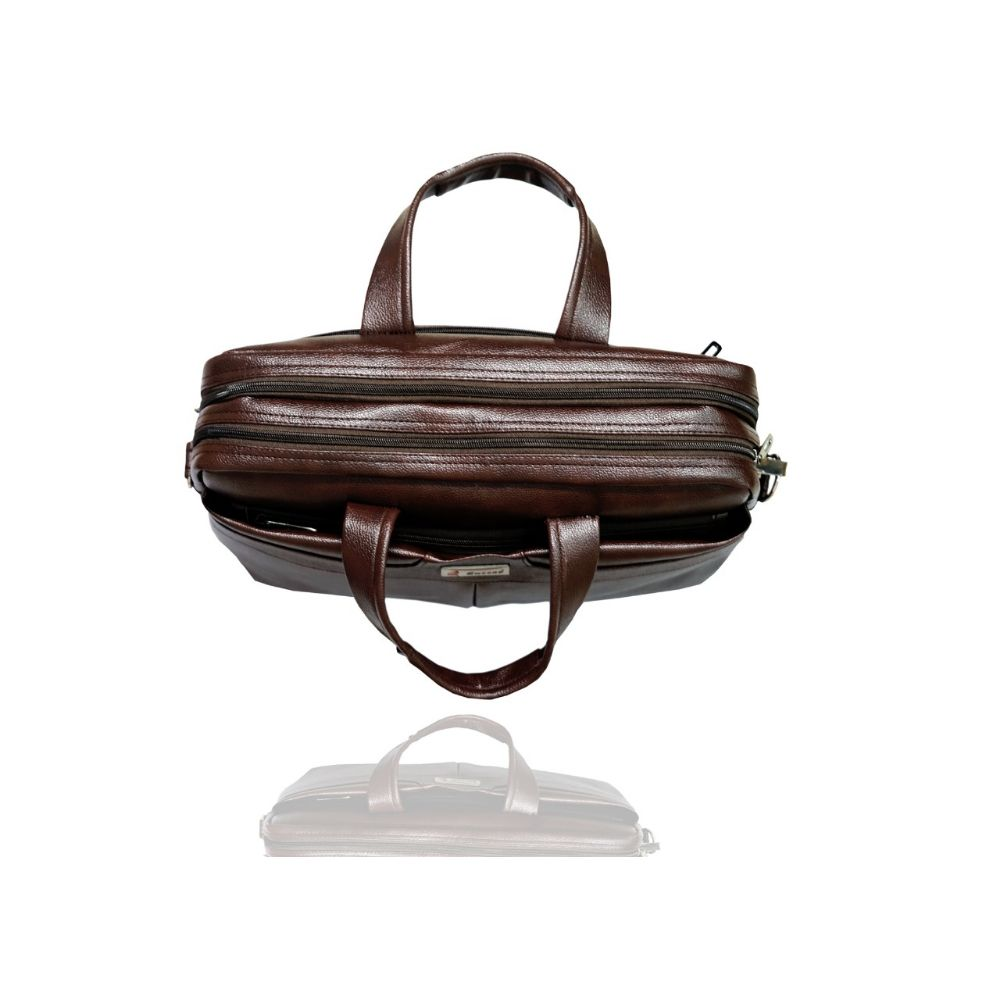 Office Bags-Office 44 Inch Brown Bag