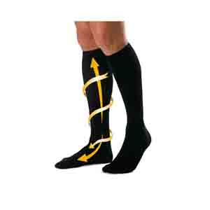 Travel Accessories-Cabeau Bamboo Compression Socks
