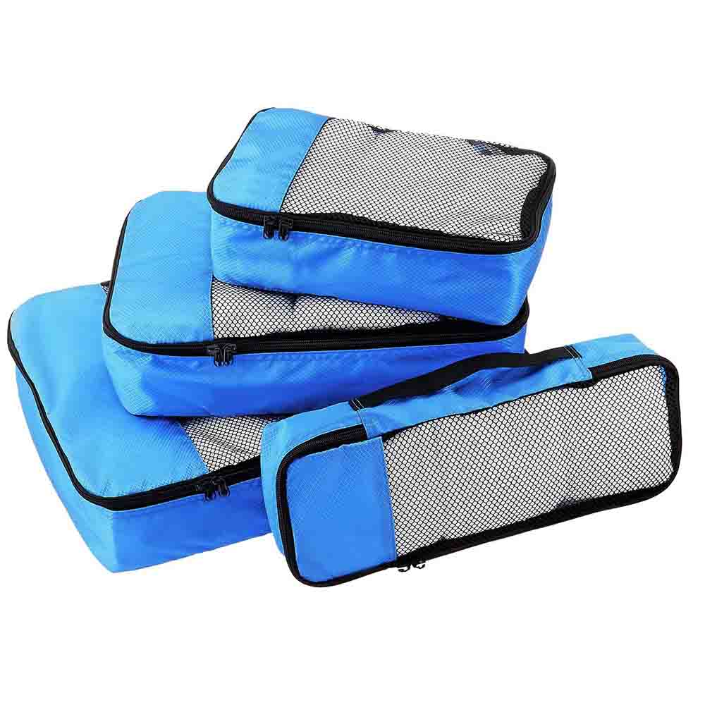 Blue Packing cubes set of 4