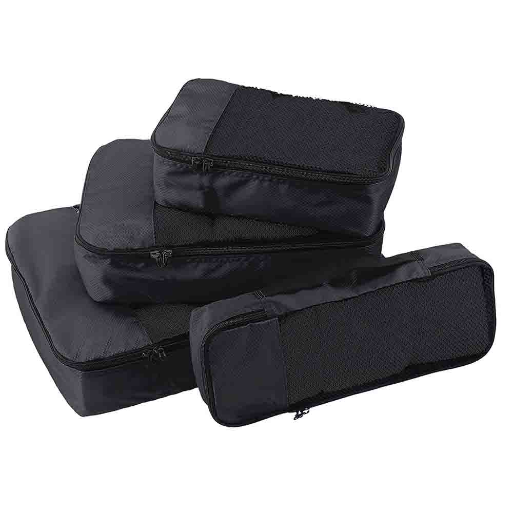Black Packing cubes set of 4