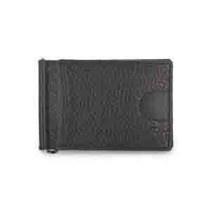 Gents Wallet-Grey Magnetic RFID leather Money Clip Mens Wallet