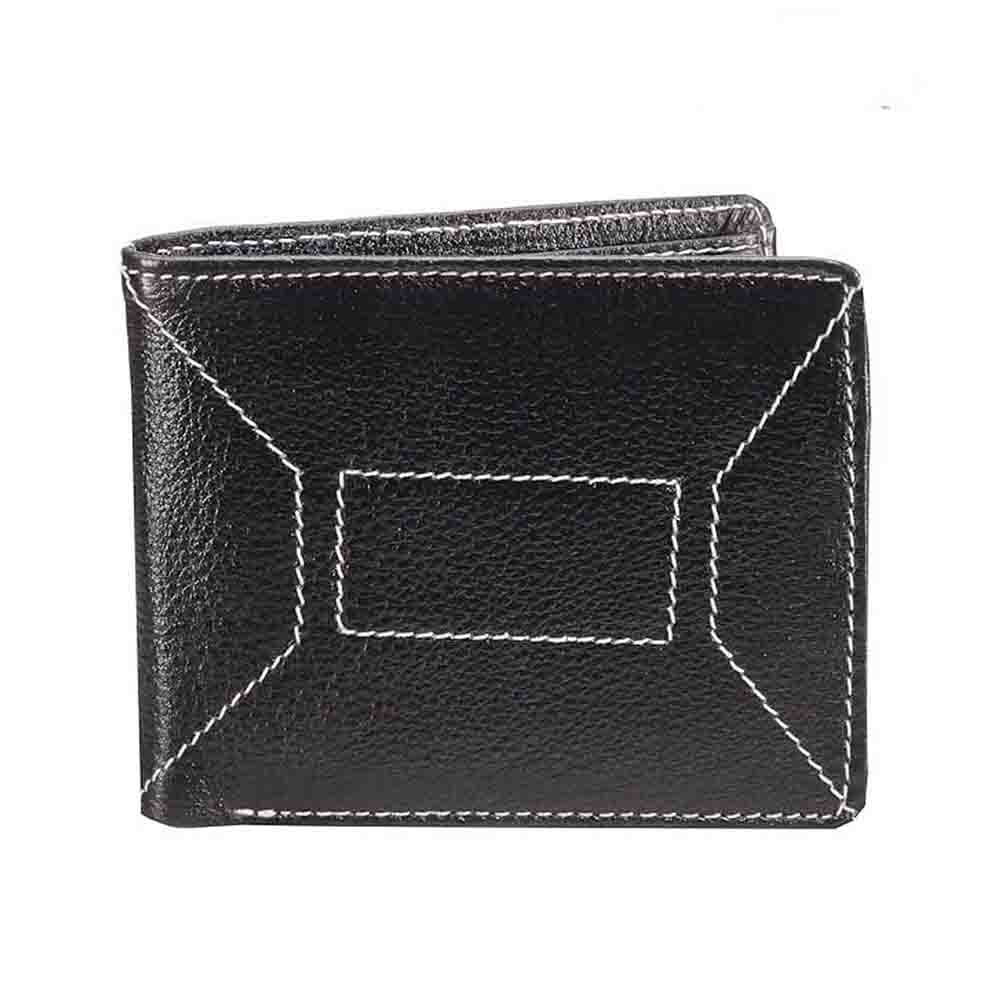 Ndm Stitch Leather Mens Wallet
