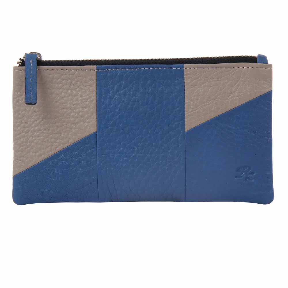 Wristlet Leather Ladies Wallet Clutch