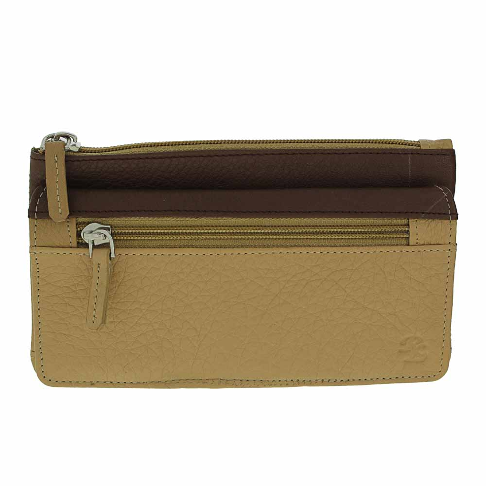 Fine Ladies Leather Clutch Wallet