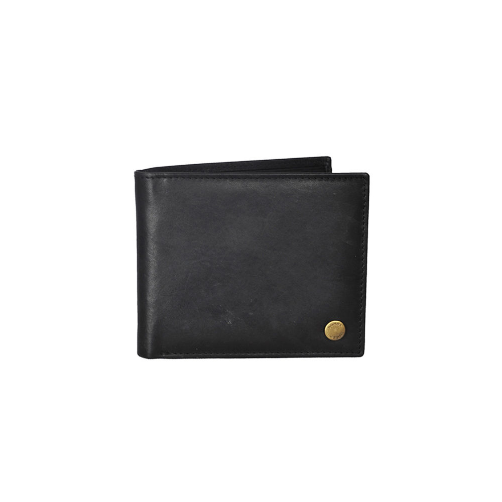 Donna & Drew Black Leather Wallet