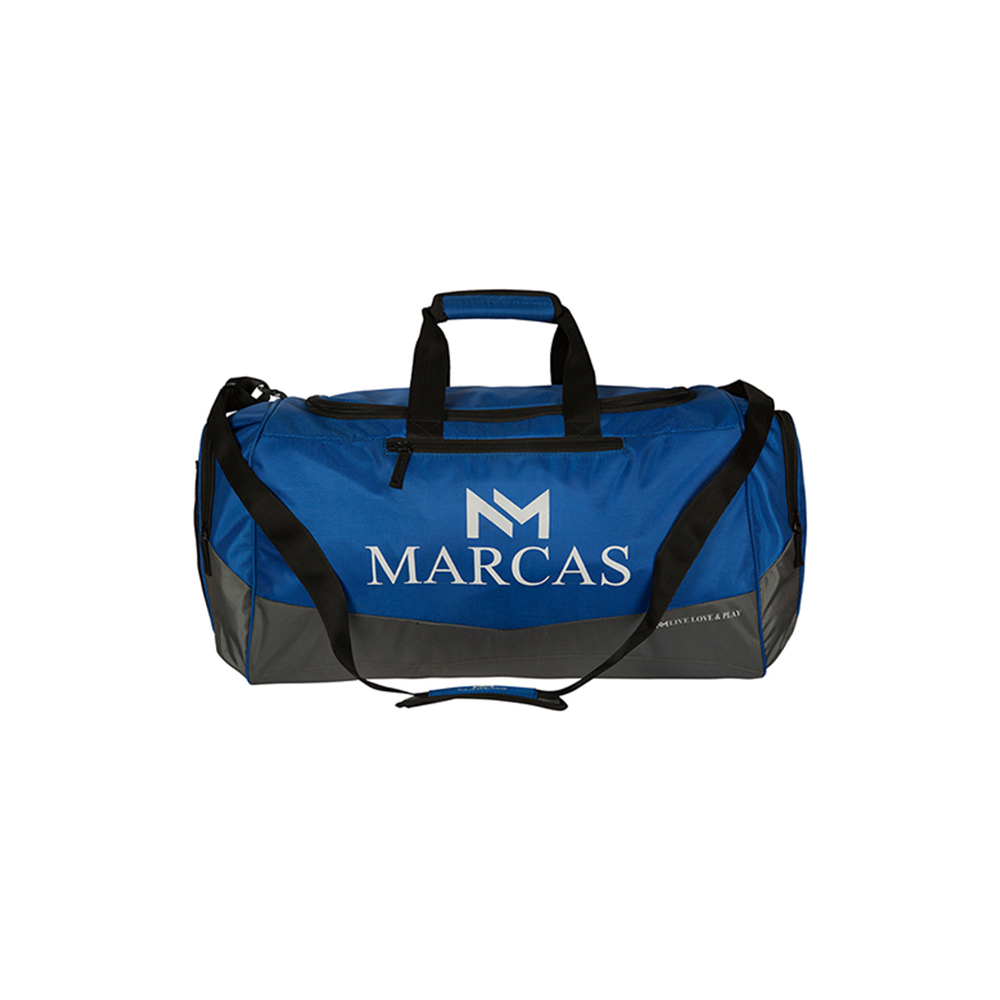 Duffle Bags-Marcas Blue & Grey Horta Luggage
