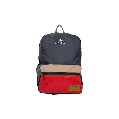 Laptop Bags-Marcas Blue & Red Backpack