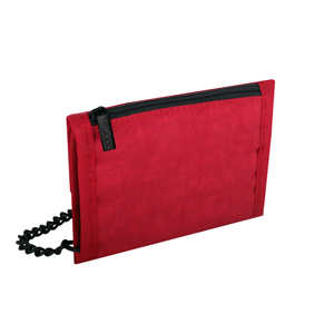 Travel Accessories-Viaggi Travel Cash Carrier Wallet - Red