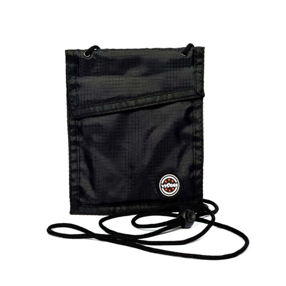 Viaggi Travel Security Neck Pouch - Black