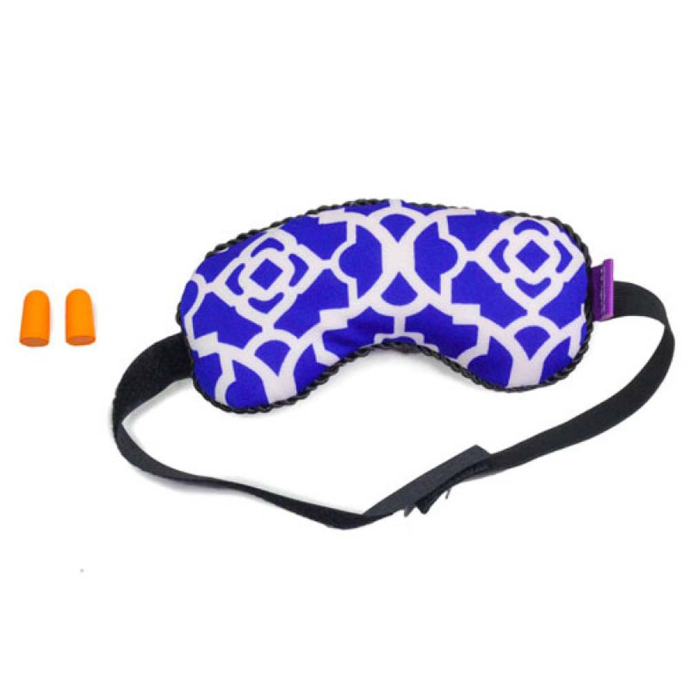 Viaggi Microbeads Sleeping Eye Mask With Ear Plugs