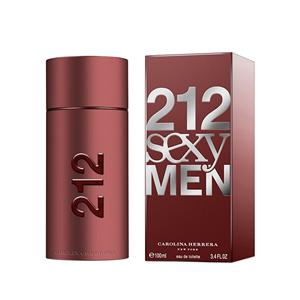 Men's Fragrances-Carolina Herrera 212 Sexy Edt Men