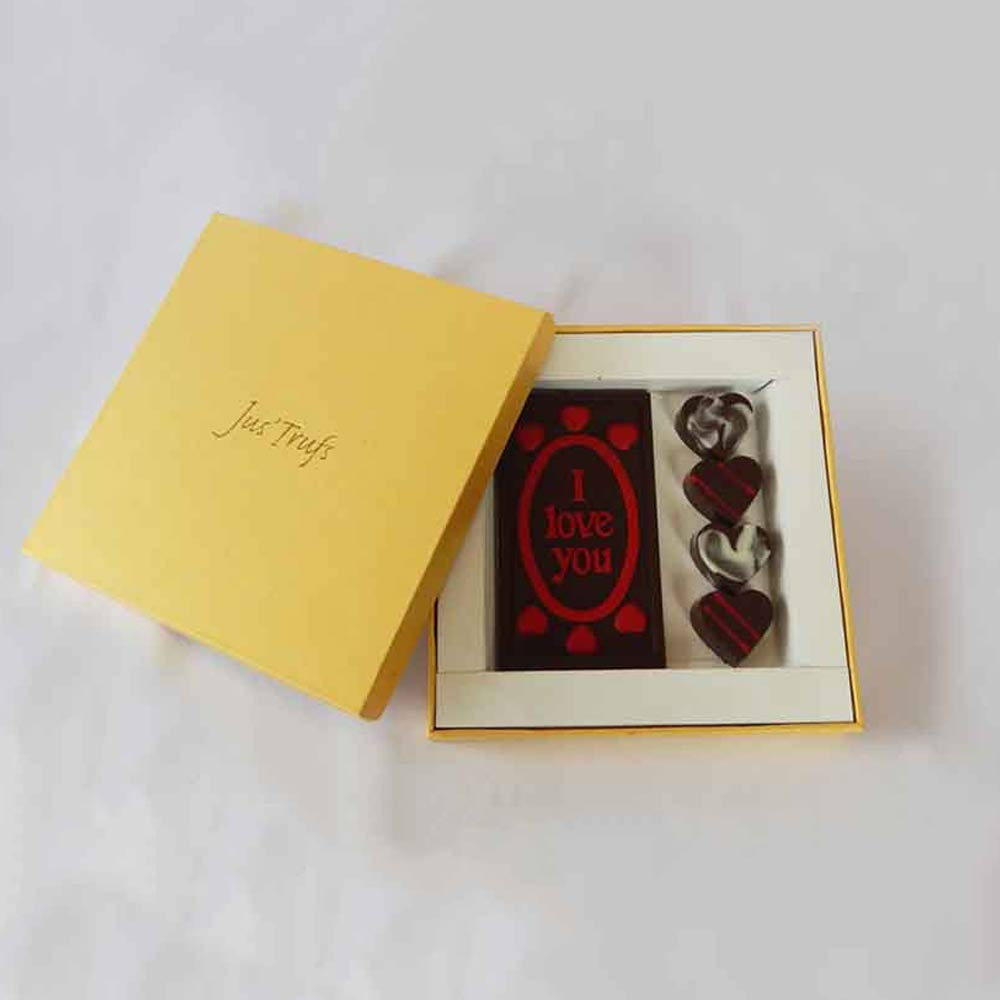 Chocolates-Romantic I love you Valentine Chocolate