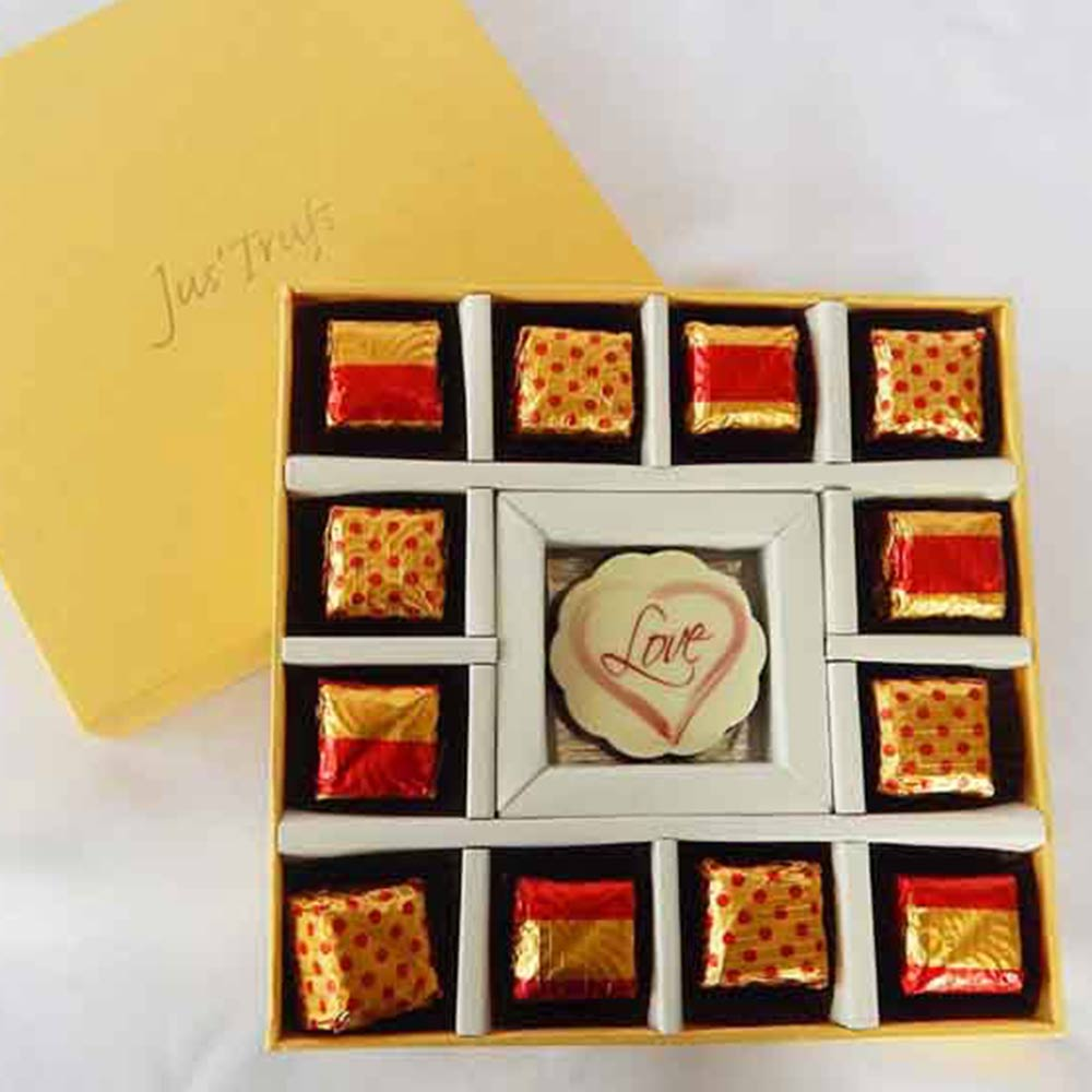 Chocolates-I love you with Chocolate Truffles for your Valentine