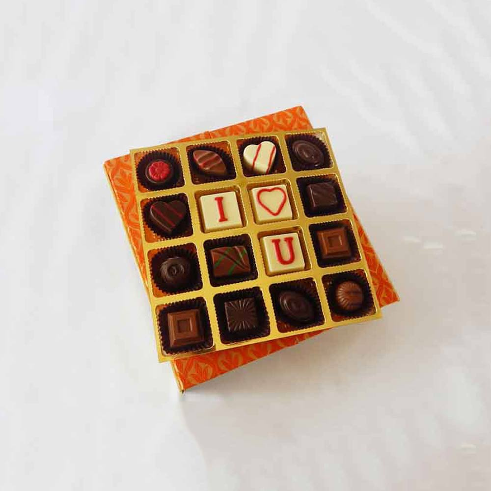 Romantic Elegant Valentine Chocolate box