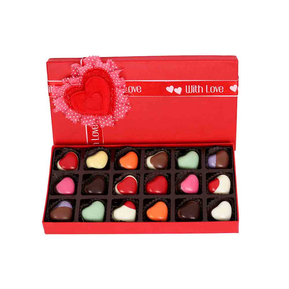 Chocolates-Love hearts